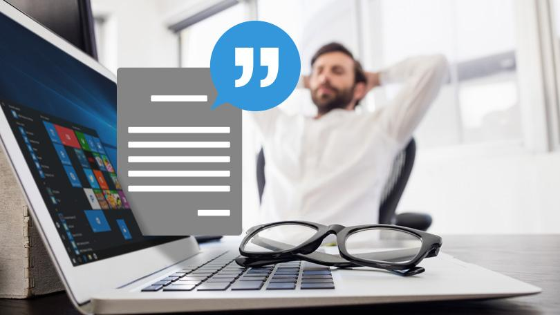 how to get windows 10 to read text