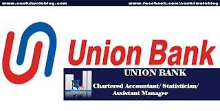 Chartered Accountant/ Statistician/ Assistant Manager Job 2016