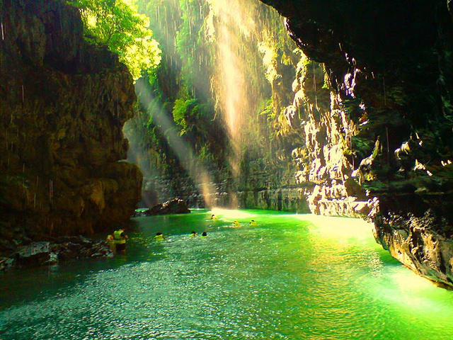 Green Canyon Pangandaran West Java