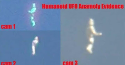 Humanoid figure traveling the universe.
