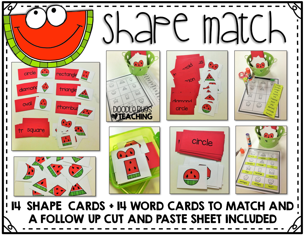 Wacky Watermelon Math Centers With Recording Sheets And