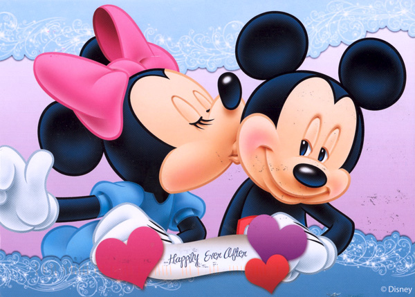 Mickey y Minnie Mouse love - Imagui