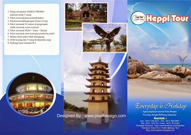 Contoh Brosur Iklan Travel Agen Wisata