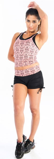 Floral printed shorts from Alanic