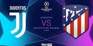 ملخص مباراة يوفنتوس و أتلتيكو مدريد مباشر إياب دوري ابطال اوروبا