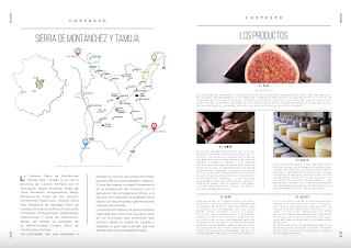 Recetario de Paisajes Gastronómicos, Sierra de Montánchez y Tamuja