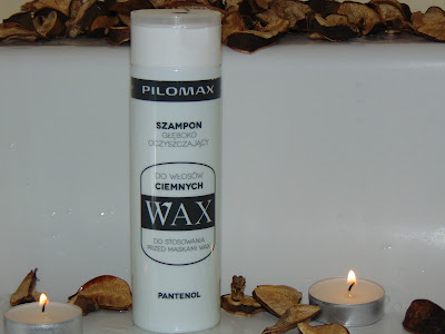 Pilomax Wax, Szampon głęboko oczyszczający do włosów ciemnych