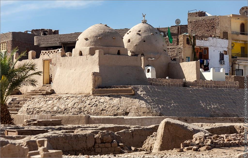 Карнакский храм, Луксор, что посмотреть в Египте, Египет, достопримечательности, мечеть