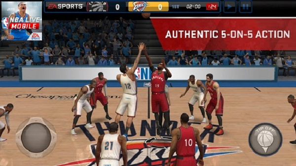 Download NBA LIVE Mobile Basketball Apk for Android