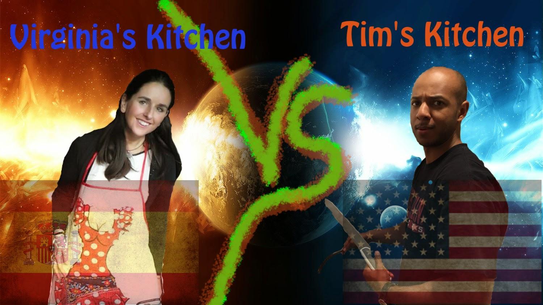 TMax's kitchen versus Virginia's kitchen