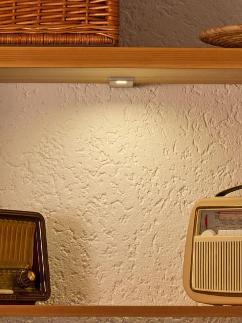 Wir renovieren Ihre Kche  Licht fr Kche und Esszimmer Bcherregal und Wandbord