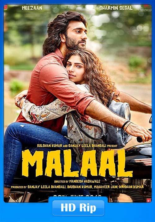 Malaal 2019 Hindi 720p PreDVDRip x264 | 480p 300MB | 100MB HEVC Poster