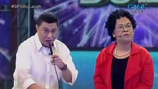 President Juterte meets Senator Santago.