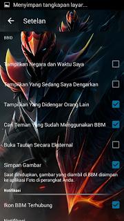 BBM MOD Dragon Knight APK