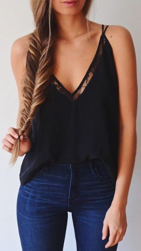 lace & staple of the black!