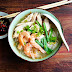 Ipoh Hor Fun/Rice Noodle Soup With Chicken And Prawn