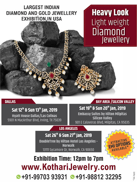 Kothari Jewellery Exhibitions in CA