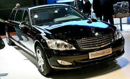 HD Cars Wallpapers: Mercedes Guardian Мерседес S600 2012