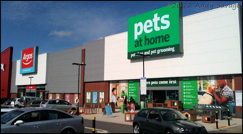 The New Pets At Home Outlet Kingsway Retail Park Derby September 2017