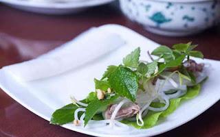 Món ăn ngon với Phở cuốn Hà Nội