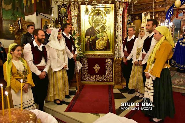 Ο εορτασμός του Ευαγγελισμού της Θεοτόκου στα Φίχτια Αργολίδας (βίντεο)