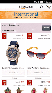 Buy fashion products at very cheap price. Starting from RS 1.