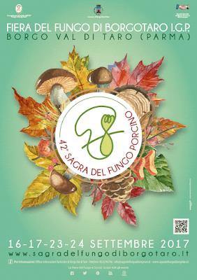 Fiera del Fungo di Borgotaro IGP 16-17-23-24 settembre Borgo Val di Taro (PR)