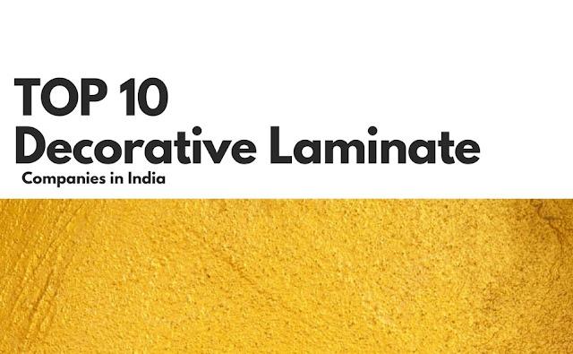 top laminate company india