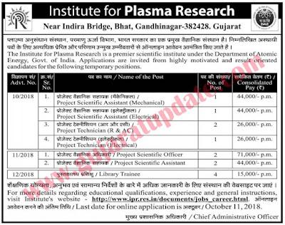 Institute of Plasma Research (IPR)
