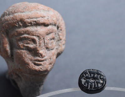 2,500-year-old seals unearthed in Jerusalem