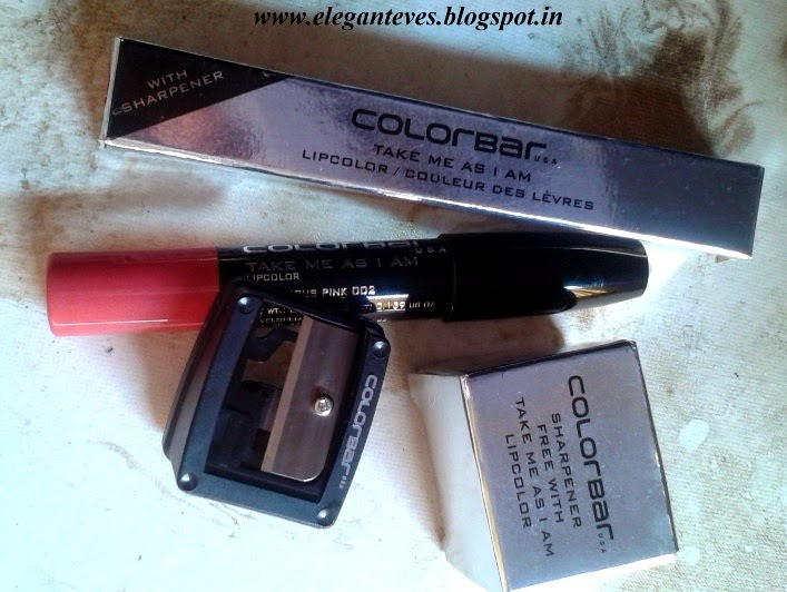 Colorbar Take Me As I Am Lipcolor #002 Flirtatious Pink