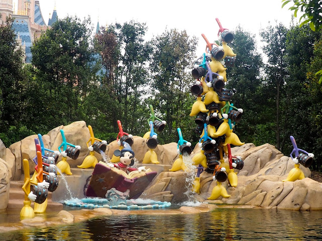 Fantasia in the Voyage to the Crystal Grotto, Shanghai Disneyland, China