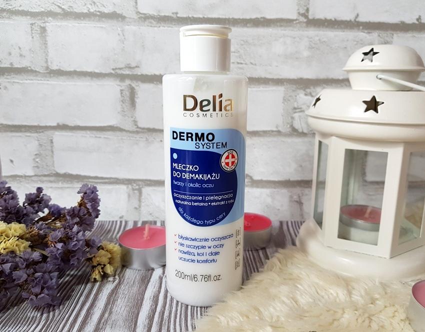 Mleczko do demakijażu Delia Dermo system