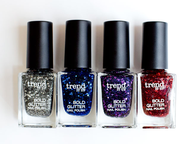 trend IT UP Bold Glitter Nagellacke, neues Sortiments Update