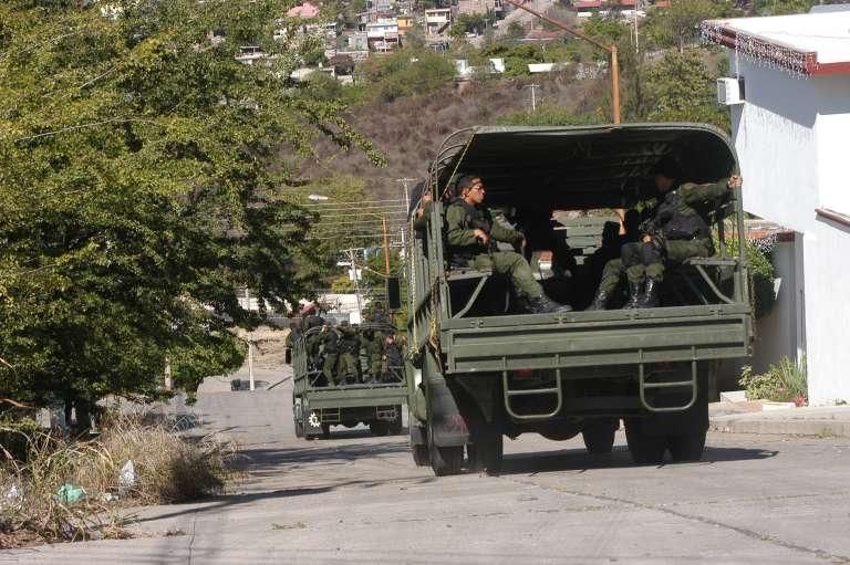 Si el narco existe es porque el Gobierno lo protege