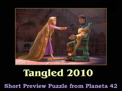 Tangled 2010 Puzzle