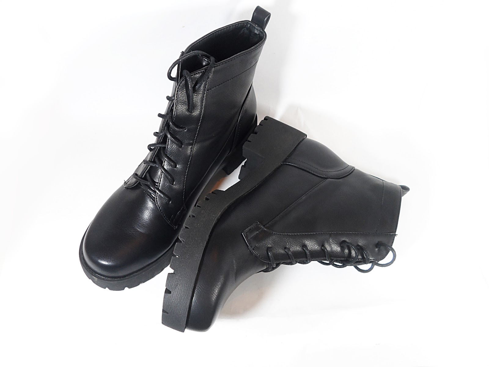 zaful cobra combat ankle boots review black friday