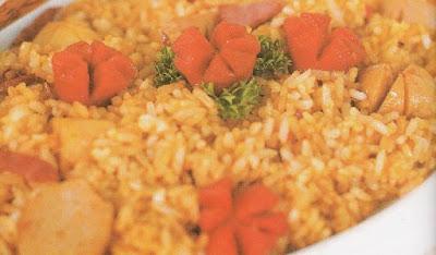 Nasi Goreng Sosis Bakso Pedas