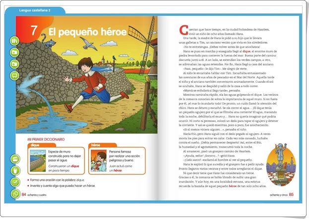 http://primerodecarlos.com/SEGUNDO_PRIMARIA/SANTILLANA/Libro_Media_Santillana_lengua_segundo/index.html
