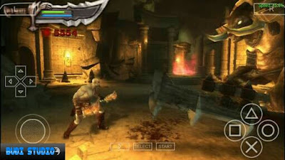 God Of War: Chains Of Olympus PPSSPP High Compress android