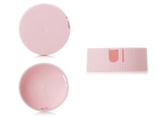 Pink plastic salt bottles closures and caps - 3plastics