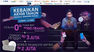 Promosi Kebaikan Akhir Tahun Bersama Samsung Galaxy di DinoMarket