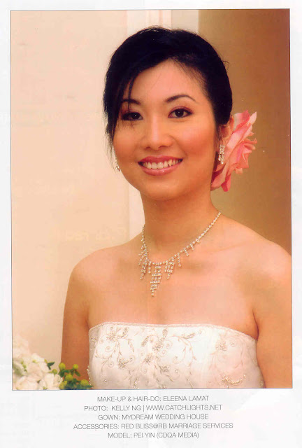 chinese bride smiling