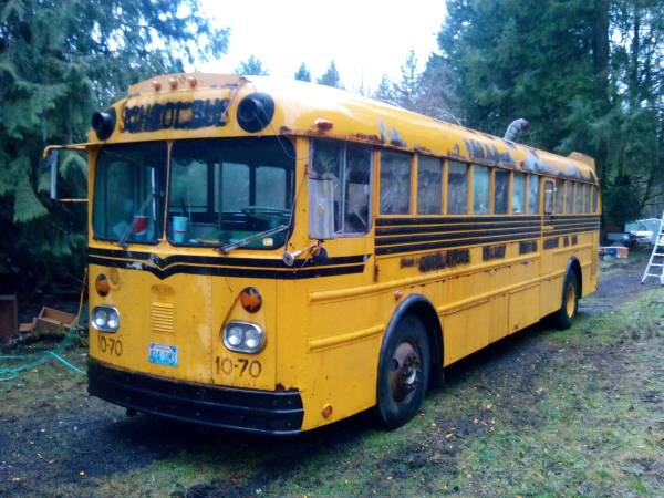 used rvs 1970 gillig 636 school bus for sale by owner. Black Bedroom Furniture Sets. Home Design Ideas