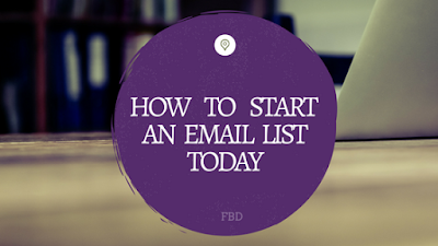 How to Start an Email List Today