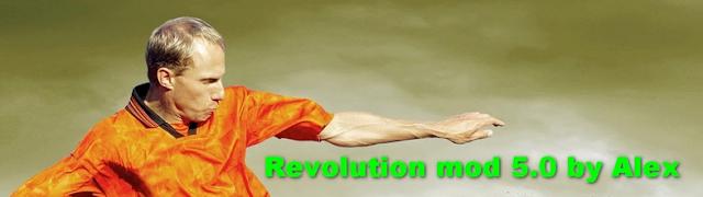 PES 2017 Revolution Mod 5.0 dari Alex