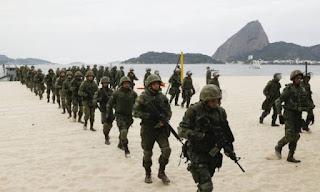 Marinha realiza treinamento para os jogos olímpicos