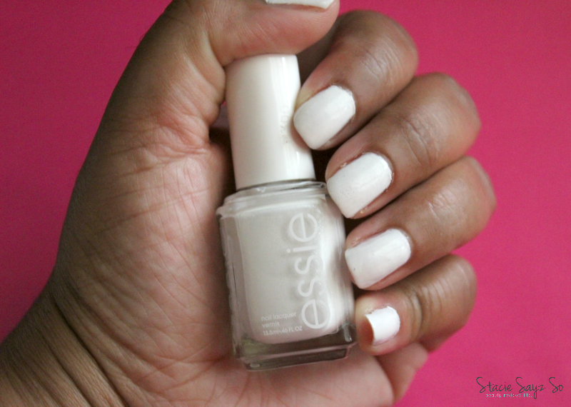 Essie Gel Setter Top Coat & Essie Private Weekend Review | STACIE RAYE