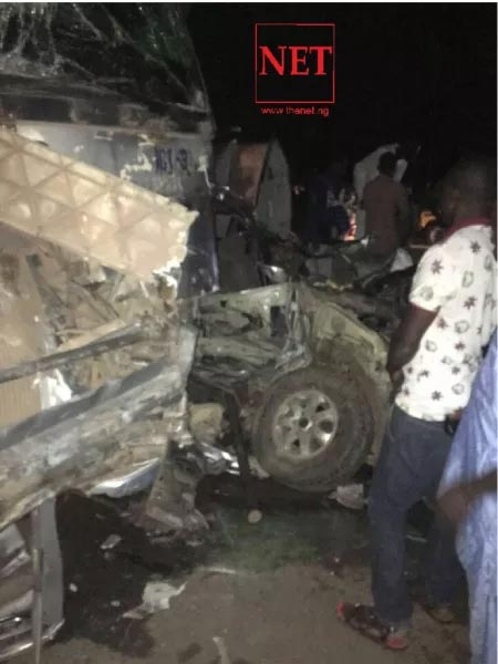 Oritsefemi's manager Danku and his artist Rayce involved in ghastly accident with Dangote trailer