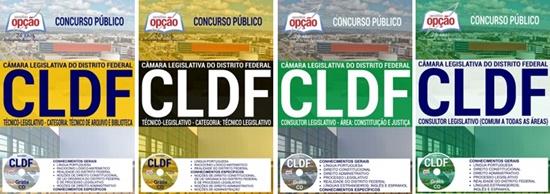 Apostila Concurso CLDF 2017